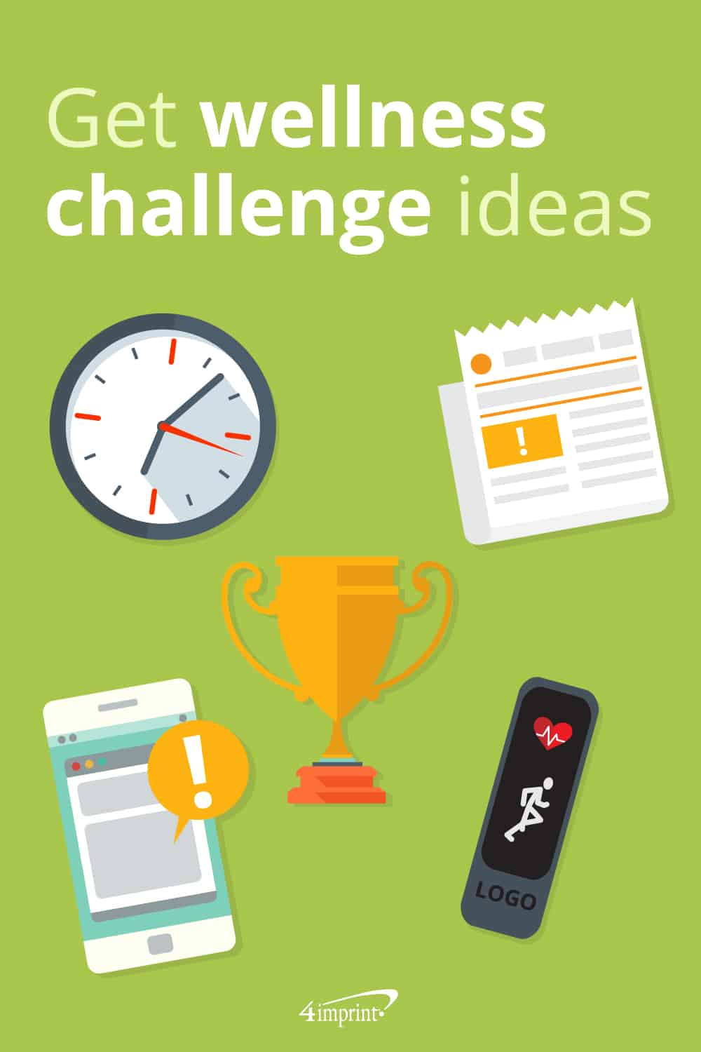 Get wellness challenge ideas - pinable graphic about wellness giveaways