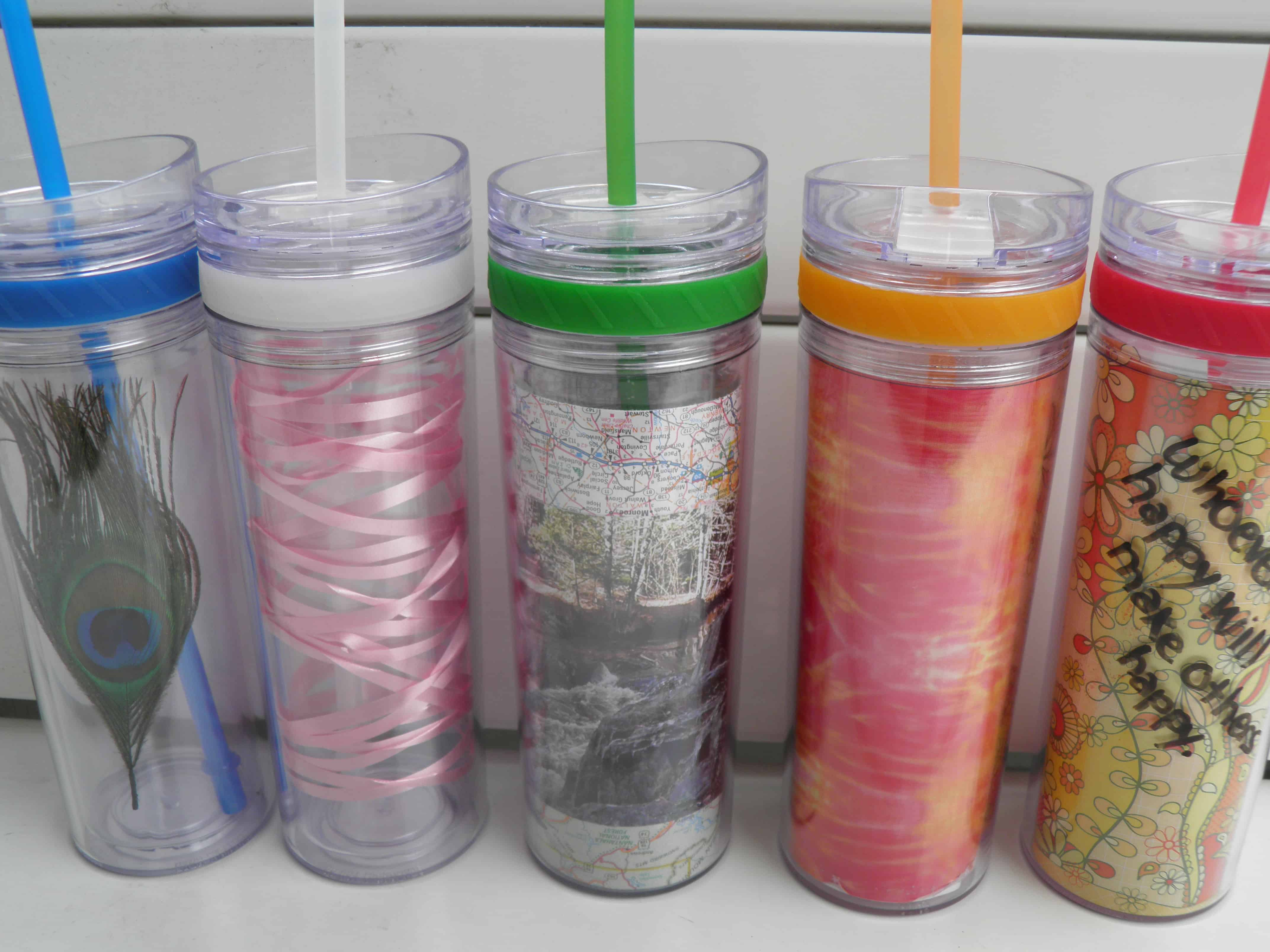 Tumbler with insert
