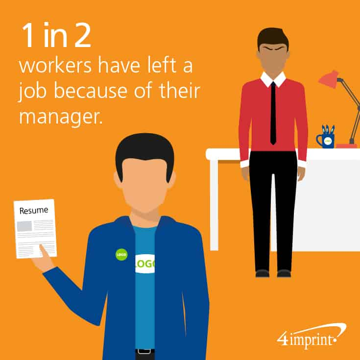 1 in 2 workers have left a job because of their manager