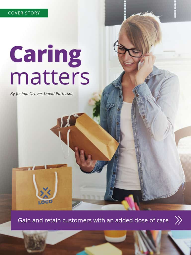 Thumbnail image of cover story: Caring matters
