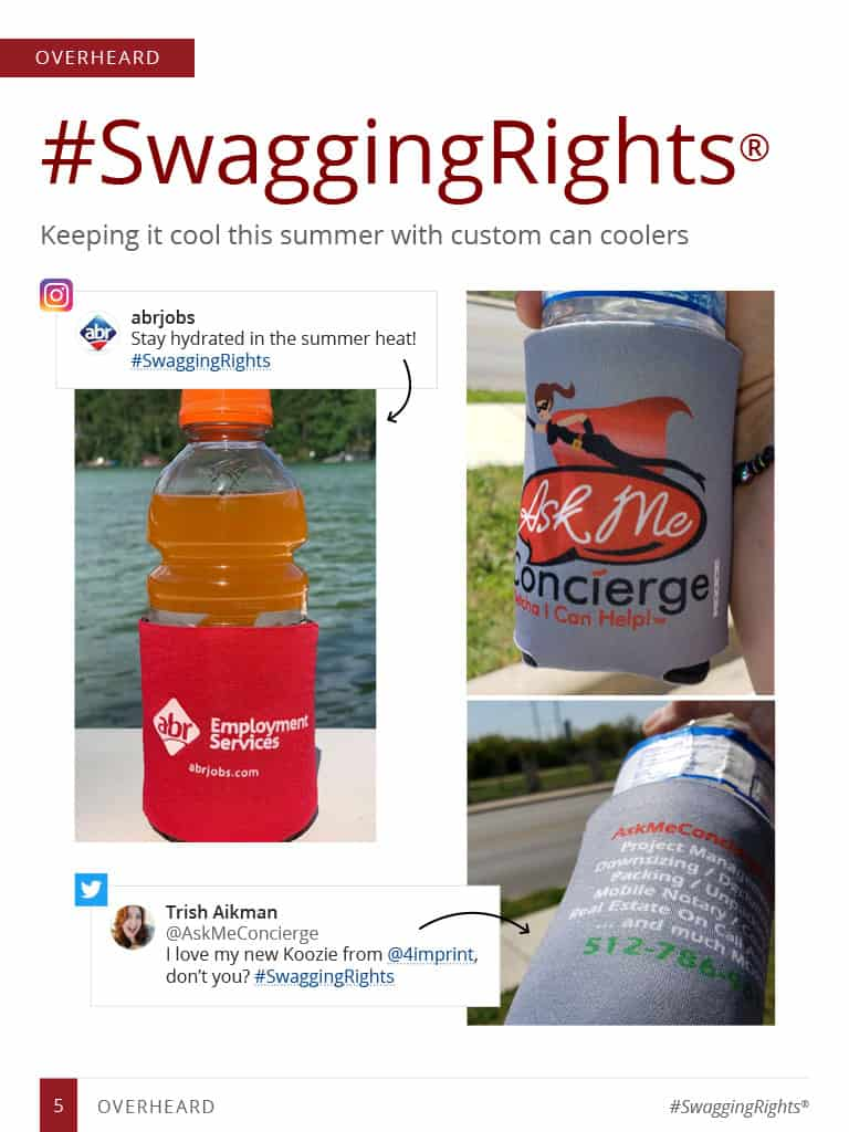 thumbnail image of overheard story: #swaggingrights - keeping it cool this summer with custom can coolers