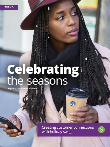 Trend story: Creating customer connections with holiday swag - Top giveaways for any holiday