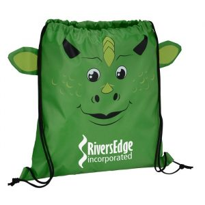 Paws and Claws Sportpack Dragon - Promotional drawstring bag