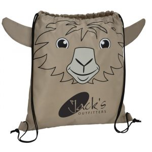 Paws and Claws Sportpack Llama - Promotional drawstring bag