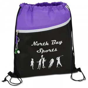 Pitch Drawstring Sportpack | Promotional Products from 4imprint