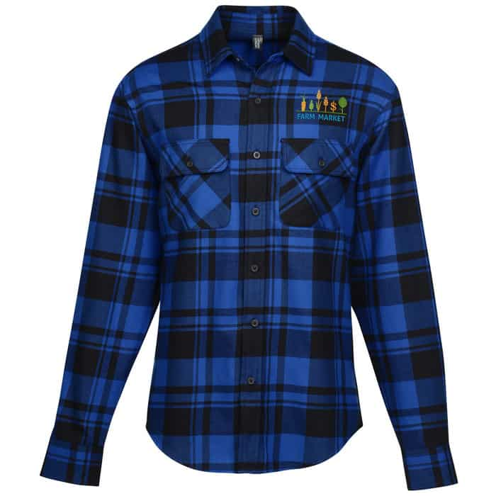 Plaid Flannel Shirt - Men's | Company apparel from 4imprint.