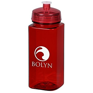 PolySure Squared-Up Water Bottle | 4imprint promotional water bottles.