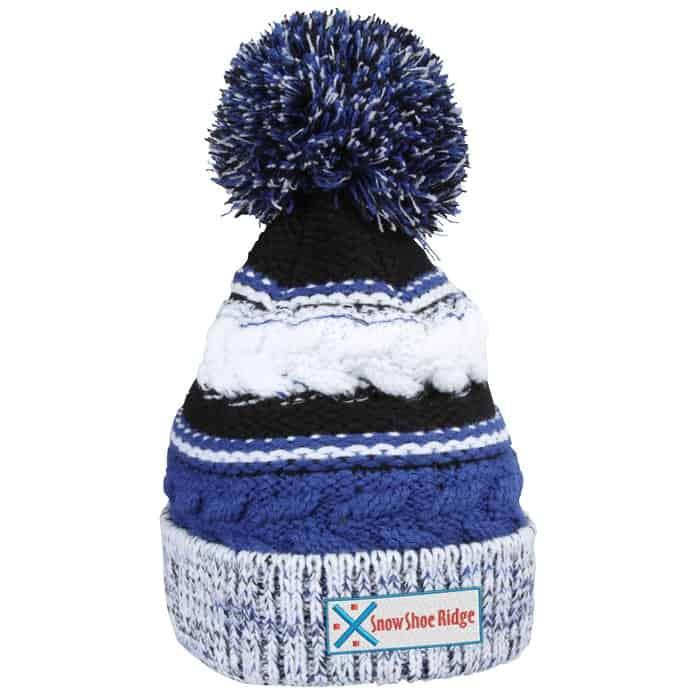 Pom-Pom_Spectator_Beanie – a great custom winter hat with pom.