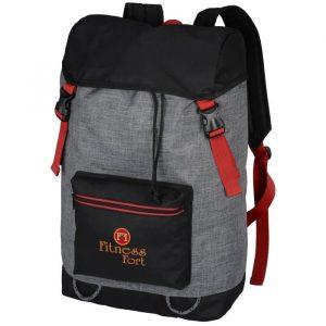Portland laptop backpack - embriodered