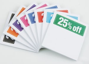 Post-it Discount Coupons - 25% off | Promotional Products from 4imprint