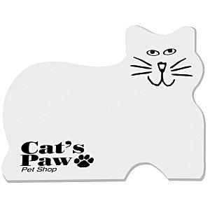Post-it Custom Notes – Cat | 4imprint promotional Post-it Notes.