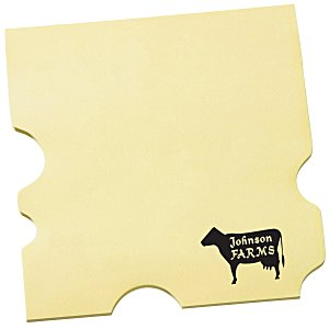 Post-it Custom Notes – Cheese | Custom post-it notes from 4imprint.