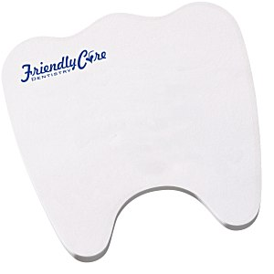 Post-it Custom Notes – Tooth | 4imprint promotional Post-it Notes.