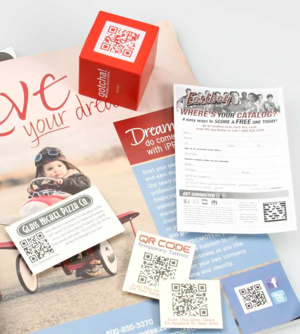 QR Code Marketing Examples