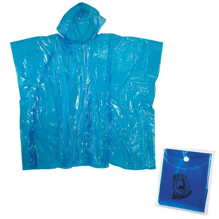 Rally Disposable Poncho | Company apparel for events.