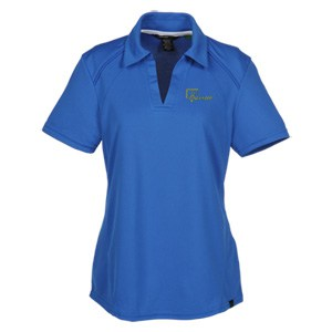 Recycled Polyester Performance Pique Polo - Ladies'