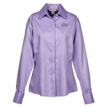 Refine Wrinkle Free Royal Oxford Dobby Shirt - Ladies | Promotional Products from 4imprint