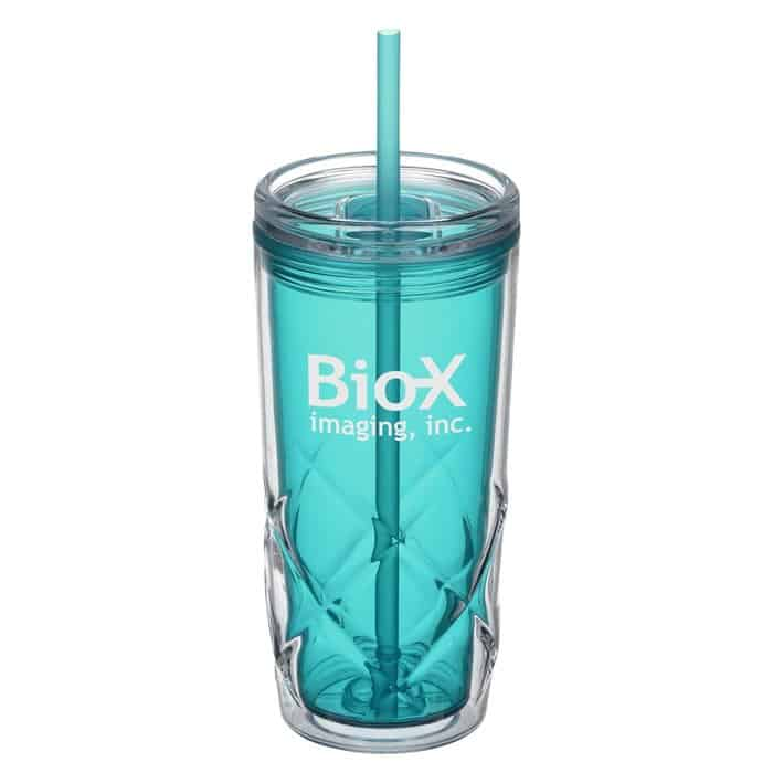Refresh® Simplex Tumbler with Straw | 4imprint promotional drinkware