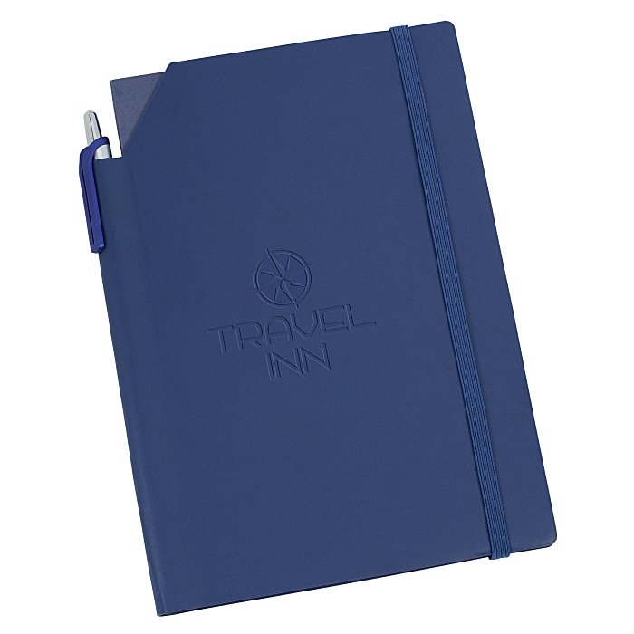 Savona Notebook with Stylus Pen is an excellent promotional notebook perfect for notebook giveaways.