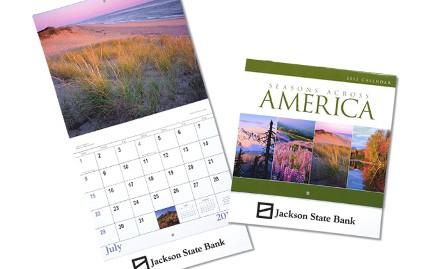 Seasons Across America Calendar Promotional Item 112194 from 4imprint