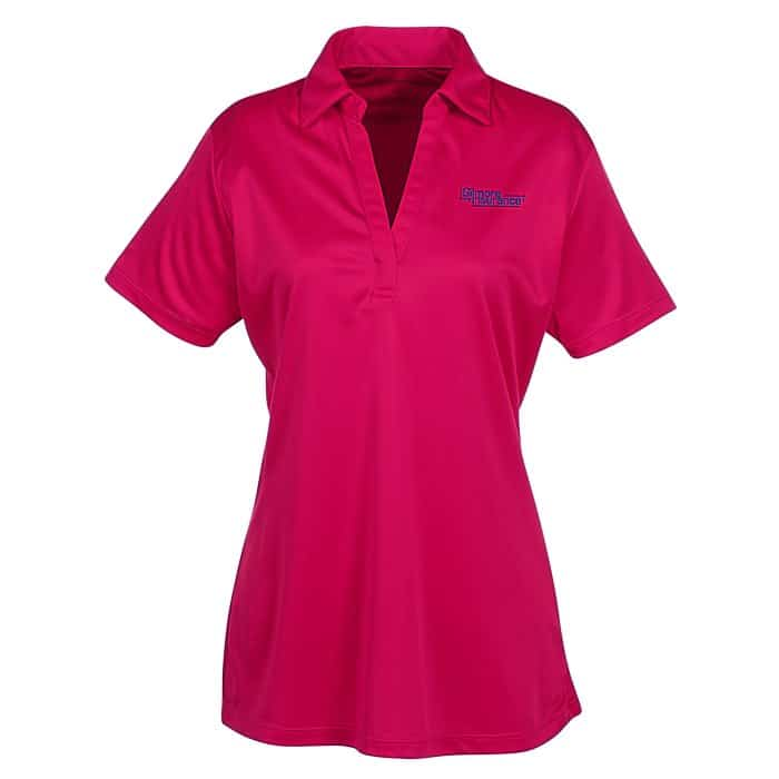 Silk Touch Performance Sport Polo – Ladies | Company apparel from 4imprint.