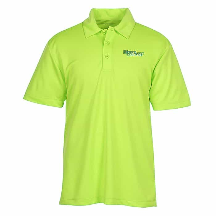 Silk Touch Performance Sport Polo – Mens | Company apparel from 4imprint.