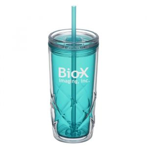 Simplex Tumbler with Straw - Promotional tumblers from 4imprint
