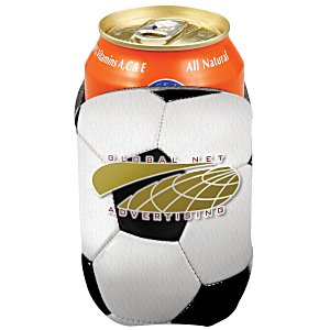 Sports Action Pocket Coolie – Soccer | Soccer giveaways from 4imprint.