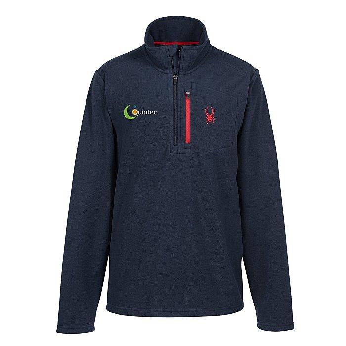 Spyder Transport 1-4 Zip Fleece Pullover Mens – new promotional items offered at 4imprint
