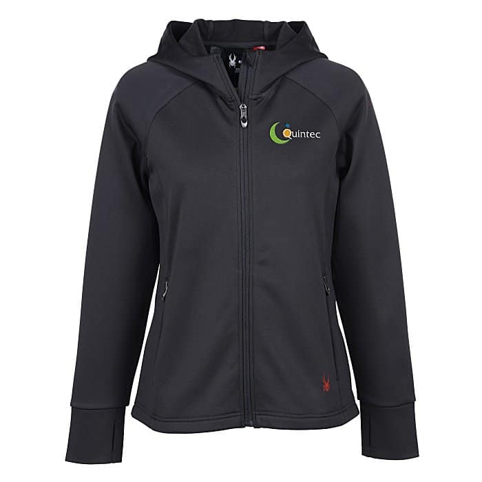 The Spyder Hayer Hooded Fleece Jacket Ladies is one of the new promotional items offered at 4imprint