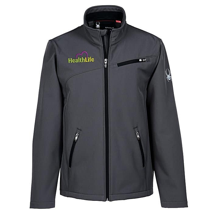 Spyder Transport Soft Shell Jacket Mens - new promotional items from 4imprint