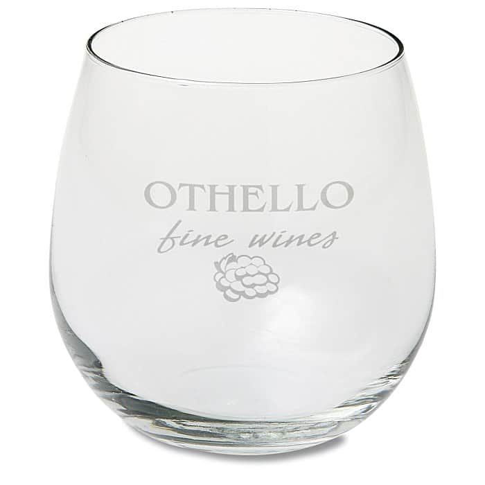 Stemless Red Wine Glasses are ideal corporate holiday gifts.