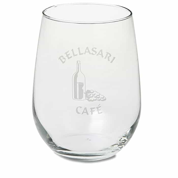 Stemless White Wine Glass is a wonderful corporate holiday gift.