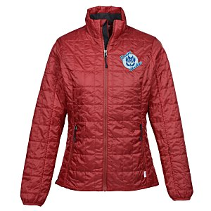Storm Creek Thermolite Travelpack Jacket - Ladies' | Logo travel gear from 4imprint
