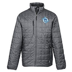Storm Creek Thermolite Travelpack Jacket – Men's | Logo travel gear from 4imprint
