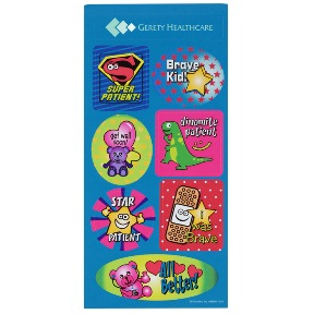 Super Kid Sticker Sheet Dollars Doctor Visit | Promotional Products from 4imprint