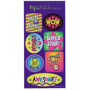 Super Kid Sticker Sheet - personalized business stickers from 4imprint