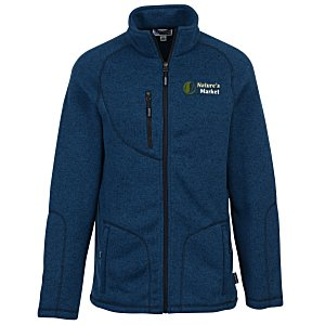 Sweater Knit Fleece Jacket – Men's | 4imprint winter promotional items.