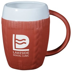 Sweater Mug | 4imprint winter promotional products.