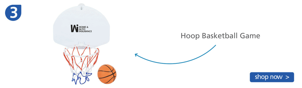 Number three: basketball hoop and ball game