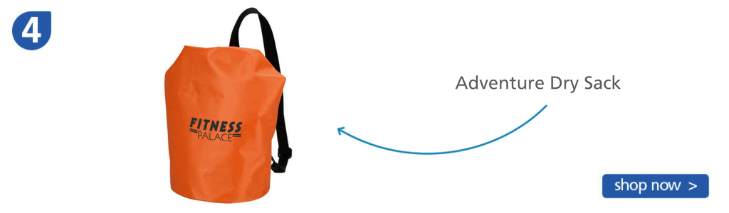 Number four: orange bag with strap