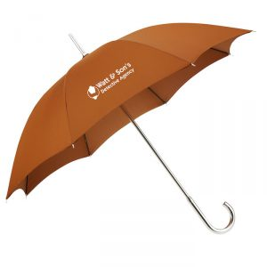 Brown retro umbrella