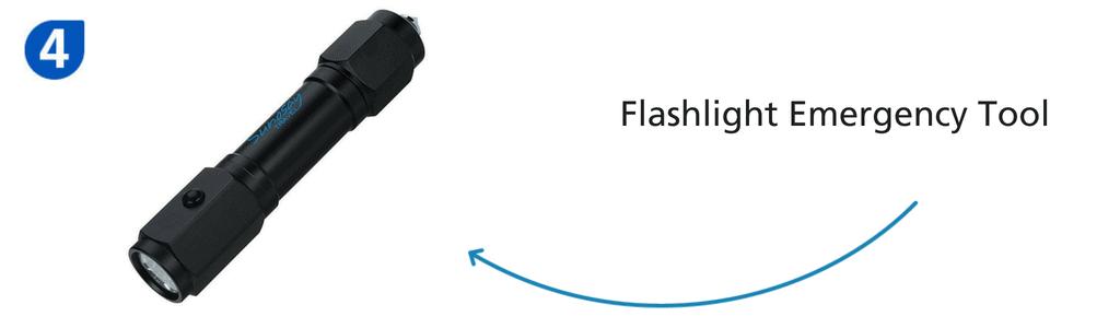 Number four: flashlight emergency tool