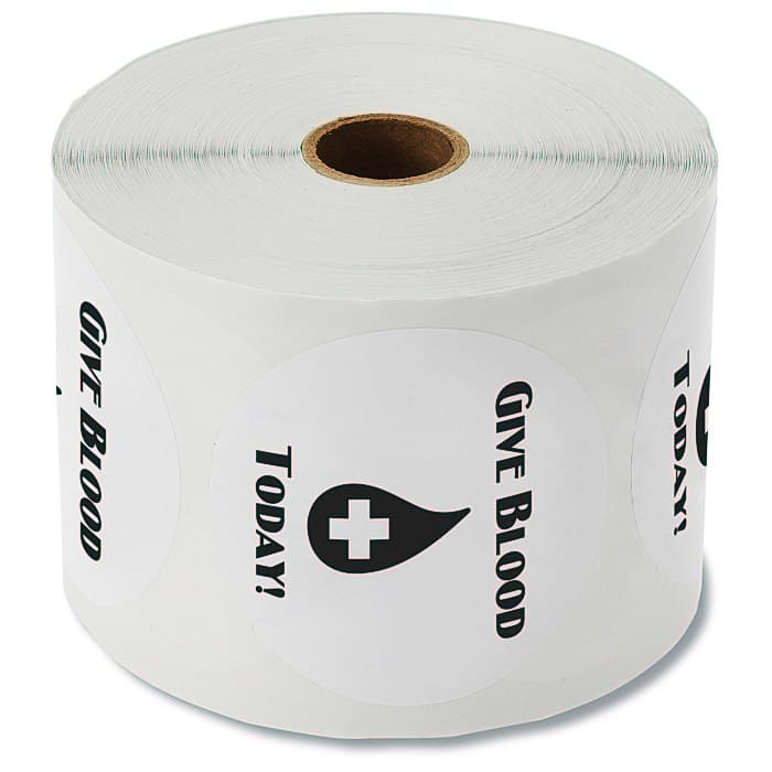 Value Sticker by the Roll are an ideal affordable giveaway.
