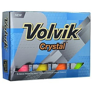 Volvik Crystal Golf Ball - high-end promotional products from 4imprint
