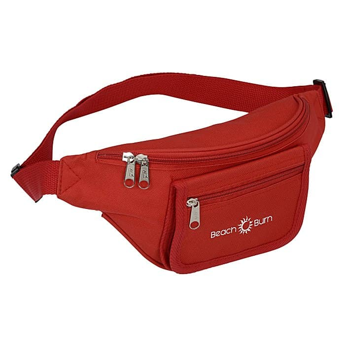 Waist Pack with Organizer Panel | 4imprint custom sling bag