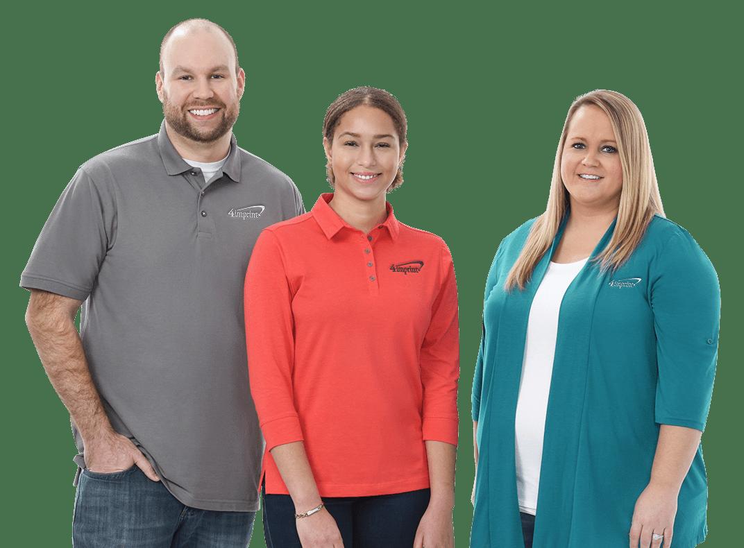 Smiling 4imprint employees