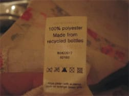 Cath Kidston Tote Bag Label, Made from Recycled Soda Bottles