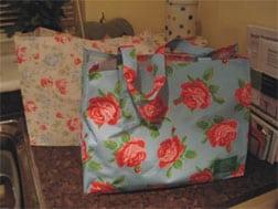 Cath Kidston Reusable Tote Bag - TESCO