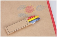 Color-Me Activity Tote w/Crayons   Promotional Products from 4imprint